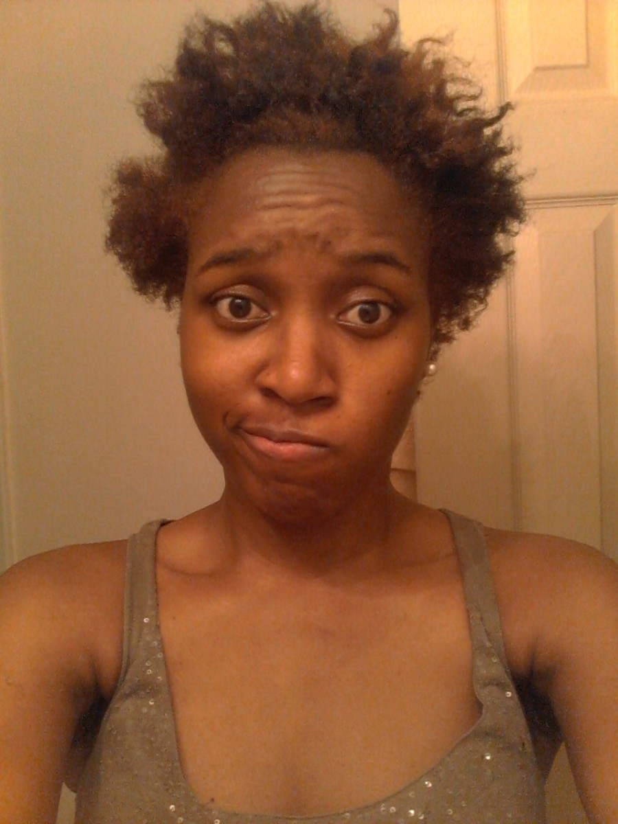 When your twist outs/braid outs go horribly, HORRIBLY wrong...