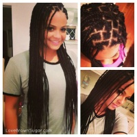 Christina Milian is a Natural Beauty