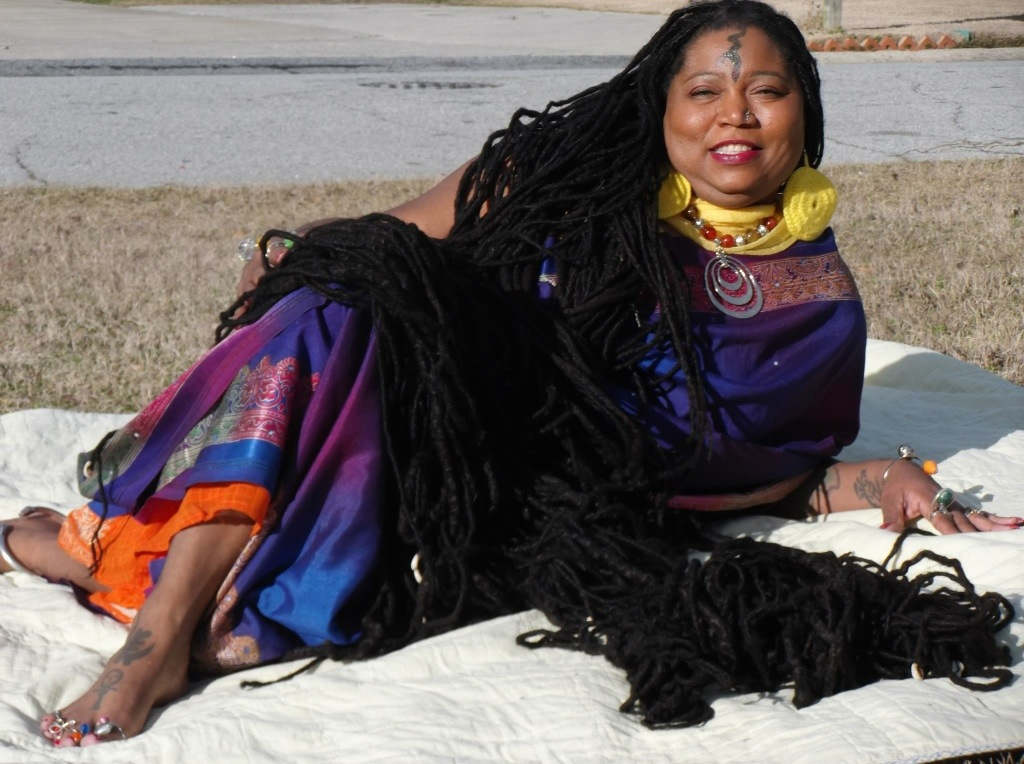 Longest Dreadlocks In The World Asha Zulu Mandela Shares Her Journey And Hair Care Secrets 2kinky Ladies