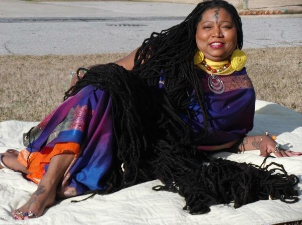 Image result for Asha Zulu Mandela - World's Longest Dreadlocks