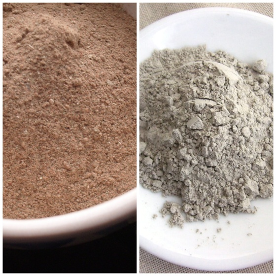 Rhassoul and Bentonite
