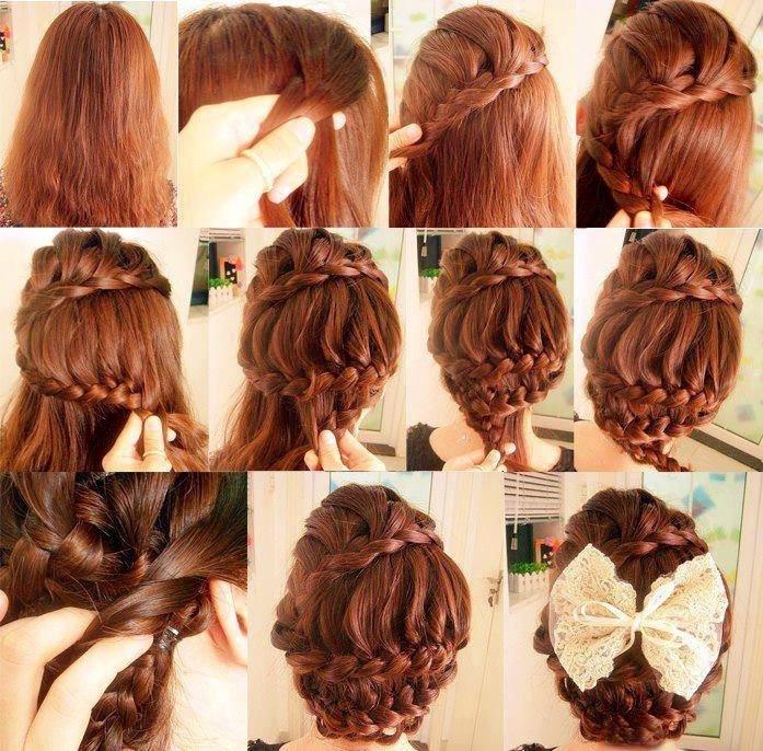 Hairstyle Idea Elegant Braided Updo 2kinky Ladies