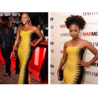 Teyonah Parris' Fro Giving LIFE Emmy Weekend